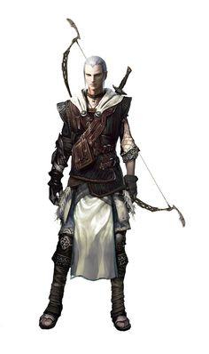 Male Elven Archer by Vynthallas on deviantART