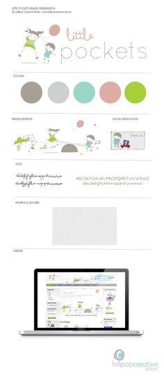 Little Pocket Logo   Website Design