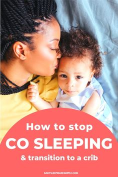Want to stop cosleeping with your baby or toddler? This guide explains how to transition your baby from cosleeping to crib or toddler bed. Step-by-step tips that will help you stop cosleeping (or bed sharing) with your baby and transition them to a crib or toddler bed. #cosleeping #cosleepingwithbaby #cosleepingwithtoddler #bedsharingwithbaby #roomsharingwithbaby Co Sleeping With Baby, Sleeping Babies, Breastfeeding Positions, Breastfeeding And Pumping, Newborn Baby Tips, Newborn Care, Toddler Sleep, Toddler Girls, Baby Napping