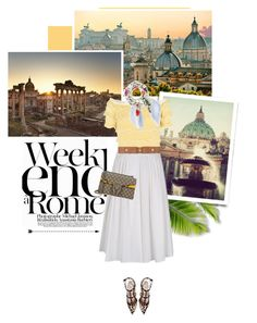 """""""Roma- The Big Beauty"""" by pippi-loves-music ❤ liked on Polyvore featuring TOUS, LARA, RED Valentino, Marni, Gucci and Valentino"""