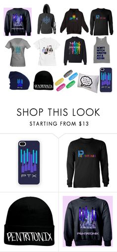 """""""Ptx Merch """" by emmamendes13 ❤ liked on Polyvore featuring Samsung and OTTO"""