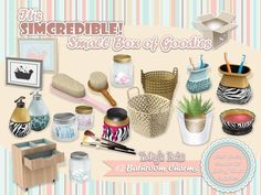 Bathroom Charms by SIMcredible! Designs 3 - Sims 3 Downloads CC Caboodle