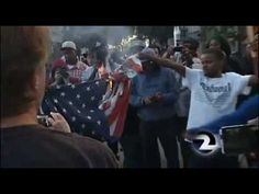 Zimmerman Protesters Burn American Flag! Oakland, Trayvon Martin Protests - July 14, 2013 - Racist Degenerates Take To The Streets In Thuggish Trayvon Martin Style Assaulting Innocent People, Vandalizing Businesses & Burning US Flags .......