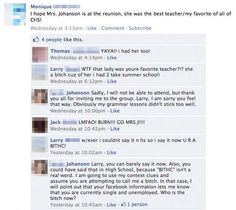 Lmao! Teacher puts ex - student in his place... Too good