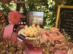Baked goods table (detail)