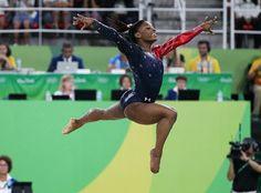 Simone Biles' athleticism is quite impressive | Essence.com