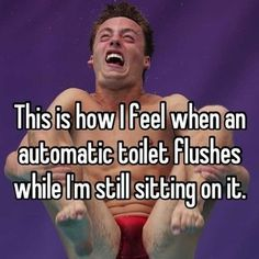 And, the person who thought up automatic toilet flushing. | 24 People Who Shouldn't Be Allowed To Invent Things Anymore