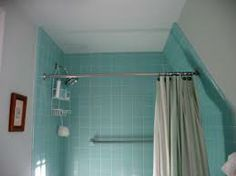 Curved Shower Rod Possible Here