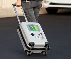 Take a piece of your glorious childhood wherever you go with the Game Boy travel luggage. This travel bag is compact enough to comply with most airlines's carry-on restrictions and features a unique design that is impossible to confuse with another bag. Old Games, Games For Kids, Travel Luggage, Travel Bag, Build Your Own Cabin, Cabin Kits, Game Boy, Support Pillows, Travel With Kids