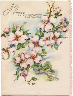 Holiday Cards - Happiest Birthday HM0049 (1) by Eudaemonius, via Flickr