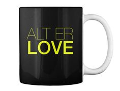 Alter Love Black Becher Back