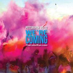 Color run Pittsburgh!!!