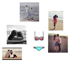 """Going to the beach with my baby"" by elizabeth-anons ❤ liked on Polyvore featuring Boyfriend/Girlfriend"