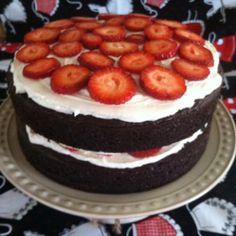 "Yummy ""Neopolitan"" Layer Cake | KarensOrdinaryLife"