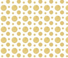 Bold Gold Fabric by This Bold Girl Designs - The Bold Abode