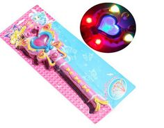 1 Plastic Cute Pink Wand Toy Heart Button Light Up Sound Music Child Game Play | Toys & Hobbies, Games, Other Games | eBay!