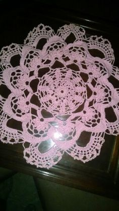 Centro de mesa rosa