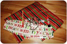 [DIY] Weihnachtsbaumschmuck aus Geschenkpapier selber machen  #Anhänger #Christbaumschmuck #DIY #Geschenkeanhänger #Geschenkpapier #Namensschildchen #Weihnachtsbaumschmuck