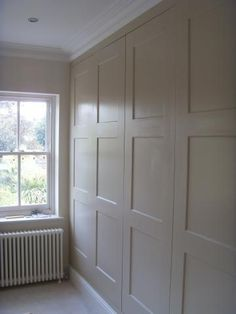 Fitted wardrobes Kingston (murphy bed behind that) Anyone can create a house sweet property, even when the spending budget is tight. Wardrobe Doors, Bedroom Wardrobe, Built In Wardrobe, Closet Doors, Alcove Cabinets, Bedroom Cupboards, Zeina, Cupboard Doors, Cupboard Ideas