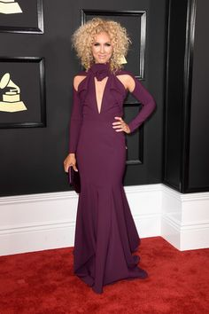 Musician Kimberly Schlapman of Little Big Town attends The 59th GRAMMY Awards at STAPLES Center on February 12, 2017 in Los Angeles, California.