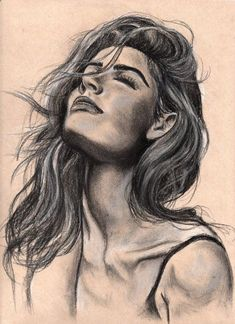 Drawing Pencil Portraits - Pencil Portrait Mastery - Charcoal 1.jpg - Discover The Secrets Of Drawing Realistic Pencil Portraits Discover The Secrets Of Drawing Realistic Pencil Portraits