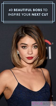 40 Beautiful Bobs to Inspire Your Next Cut