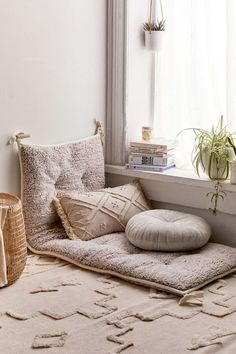meditation room decor New Home Decor From Urban Outfitters 2018 Decor, Living Room Flooring, Bedroom Decor, Floor Seating, Home Decor, Floor Pillows, Room Decor, Apartment Decor, Meditation Room Decor