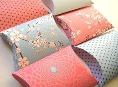 DIY Pillow Boxes | Creatively Ordinary