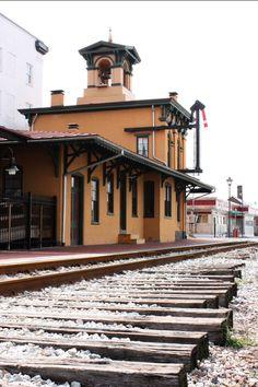 Gettysburg Train Station, Pennsylvania