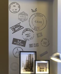 Look at this Travel Postmark Wall Quotes™ Decal on #zulily today!
