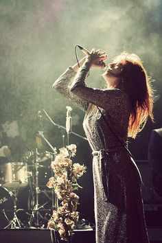 Florence and the Machine:   And in the dark, I can hear your heartbeat, I try to find the sound.  But then it stopped,   And I was in the darkness,   So darkness I became.