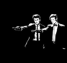 Doctor Who meets Pulp Fiction! Love.