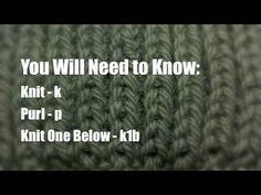 New Stitch A Day: How to Knit The Fisherman's Rib Stitch