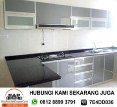 Model Kitchen Set Aluminium Dapur Minimalis Idaman Pinterest