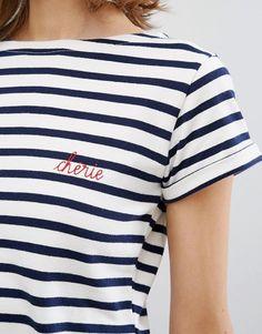 Maison Labiche Cherie Striped T-shirt - The Standard Store www.thestandardstore.com.au