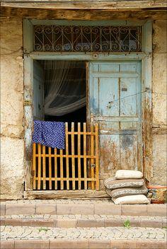 blue door........ by atsjebosma, via Flickr