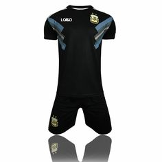 2018 Kids Russia Argentina Away Soccer Uniforms Children Football Kits cd079cce2