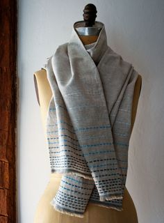 Mollys Sketchbook: Running StitchScarf - from the purl bee - pretty and easy scarf to make!! love this!
