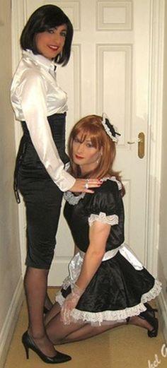 Cute maid bdsm shared