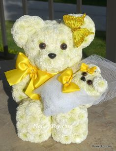 FlowerToy Angel Mommy Bear