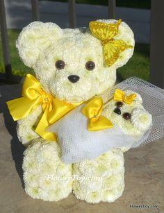 FlowerToy Angel Mommy Bear