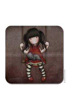 Gorjuss Coaster - Ruby - Santoro London