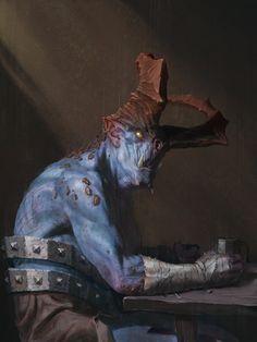 ArtStation - Yoh'nï portrait, Xabier Urrutia