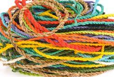 How to Dye Jute Rope