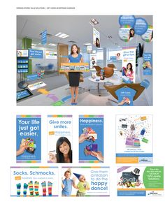 """Ceridian SVS Gift Cards Advertising"" for Ceridian SVS by inGrid Design LLC; Katie Walker, Ashley Seaton"