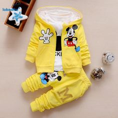 3 Piece Mickey Mouse Set