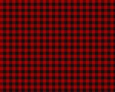 MacGregor Red and Black (aka Rob Roy) - 1 of 4 officially sanctioned Tartan designs, approved of by Sir Malcolm MacGregor, Chief of Clan Gregor.