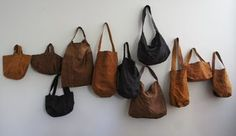 Leather Bags Handmade, Handmade Bags, Yoga Bag, Business Inspiration, Leather Working, Textile Art, Purses And Bags, Backpack, Pouch