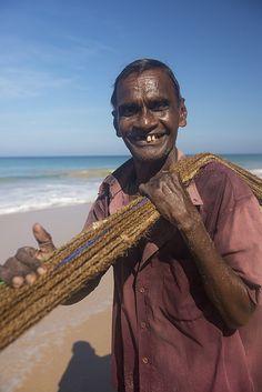 Sri Lanka - The Happy Fisherman by Brett Davies
