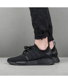 545cd2b1039f25 Adidas Originals NMD PK R1 Japan triple black Sneakers Cheap Sale